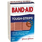 Special pack of 5 BAND-AID TOUGH STRIPS ALL ONE SIZE 20 per pack by Med-Choice