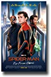 Filmposter Spider Man Far from Home, 28 x 43 cm, Main Tom Holland