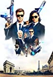 Men IN Black : INTERNATIONAL – U.S Textless Movie Wall Poster Print - 30cm x 43cm / 12 Inches x 17 Inches