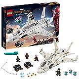 LEGOMarvel Spider-Man 76130 - Far From Home Stark-Jet und der Drohnenangriff, Bauset