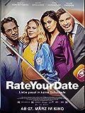 Rate Your Date - Alicia von Rittberg - Filmposter A1 84x60cm gerollt