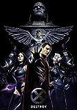 Generic X-Men ; Apocalpyse Film Foto Poster Textless Film Kunst Dark Phoenix 004 (A5-A4-A3) - A4