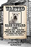 Soft Coated Wheaten Terrier Dog Wanted Poster: Beer Tasting Journal Rate and Record Your Favorite Beers Collect Beer Name, Brewer, Origin, Date, ... meter, Note and Flavor wheel 120 pages 6'x9'