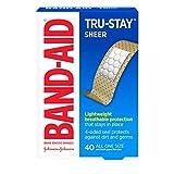 Band-Aid Klebebinde, transparent, Einheitsgröße, 40 Stück