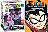 Killer Moth Teen Titans Episodes DVD Robin & Friends Cartoon Figure Pack DC Power Comic pop collectible