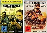 Sicario Teil 1+2 [DVD Set]