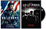 Real Life American Heroes Collection: 13 Hours & The 15:17 To Paris (Double Feature Film 2 DVD Bundle