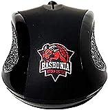 Baskonia Computer-Maus, Erwachsene, Unisex, Schwarz, Einheitsgröße