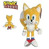Sonic - Plüsch Tails Miles Prower 13 '/ 33cm gelbe Farbe Superweiche Qualität