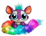 Mattel GHP18 - Lil´Gleemerz Loomur lila interaktives Spielzeug reagiert auf Berührung und Klang, Geschenk für Kinder ab 5 Jahren
