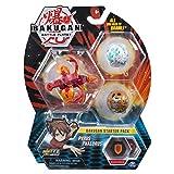 Bakugan 6045144 - Starter Pack mit 3 Bakugan (1 Ultra & 2 Basic Balls), unterschiedliche Varianten