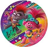 Dekora 160158 DreamWorks Trolls Tortenaufleger aus Esspapier-20 cm