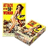 Attack of the 50ft Woman (500 Piece Jigsaw Puzzle)