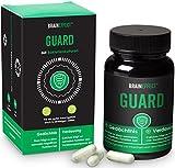 BRAINEFFECT GUARD - 60 Kapseln - Darmsupport mit Calcium - Eisen, Calcium & Vitamin B12 - Vegan - German Quality