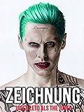 Clip: Zeichnung Jared Leto als The Joker