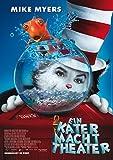 Ein Kater macht Theater: A (2004) | original Filmplakat, Poster [Din A1, 59 x 84 cm]