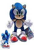 Sonic the Hedgehog 34cm Sonic X blauer Igel Sega Puppe Plüsch Video Computer Spiel SerieGames Puppe
