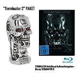 Terminator 2 - Limited Steel Edition Blu-ray + Aufbewahrungsbox 'T-800 Metall-Head' Geschenkset