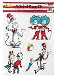 Eureka Deko-Set Katze im Hut Ein Kater macht Theater Trickfiguren (Cat in the Hat Characters) multi