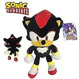 Sonic - Shadow The Hedgehog Plüschtier 11'80'/30cm Schwarze Farbe Superweiche Qualität