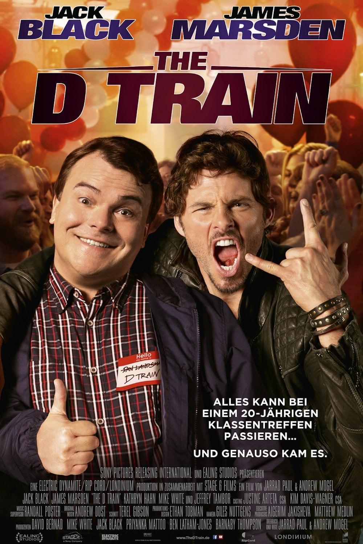 """Plakat von """"The D Train"""""""