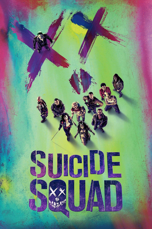 """Plakat von """"Suicide Squad"""""""