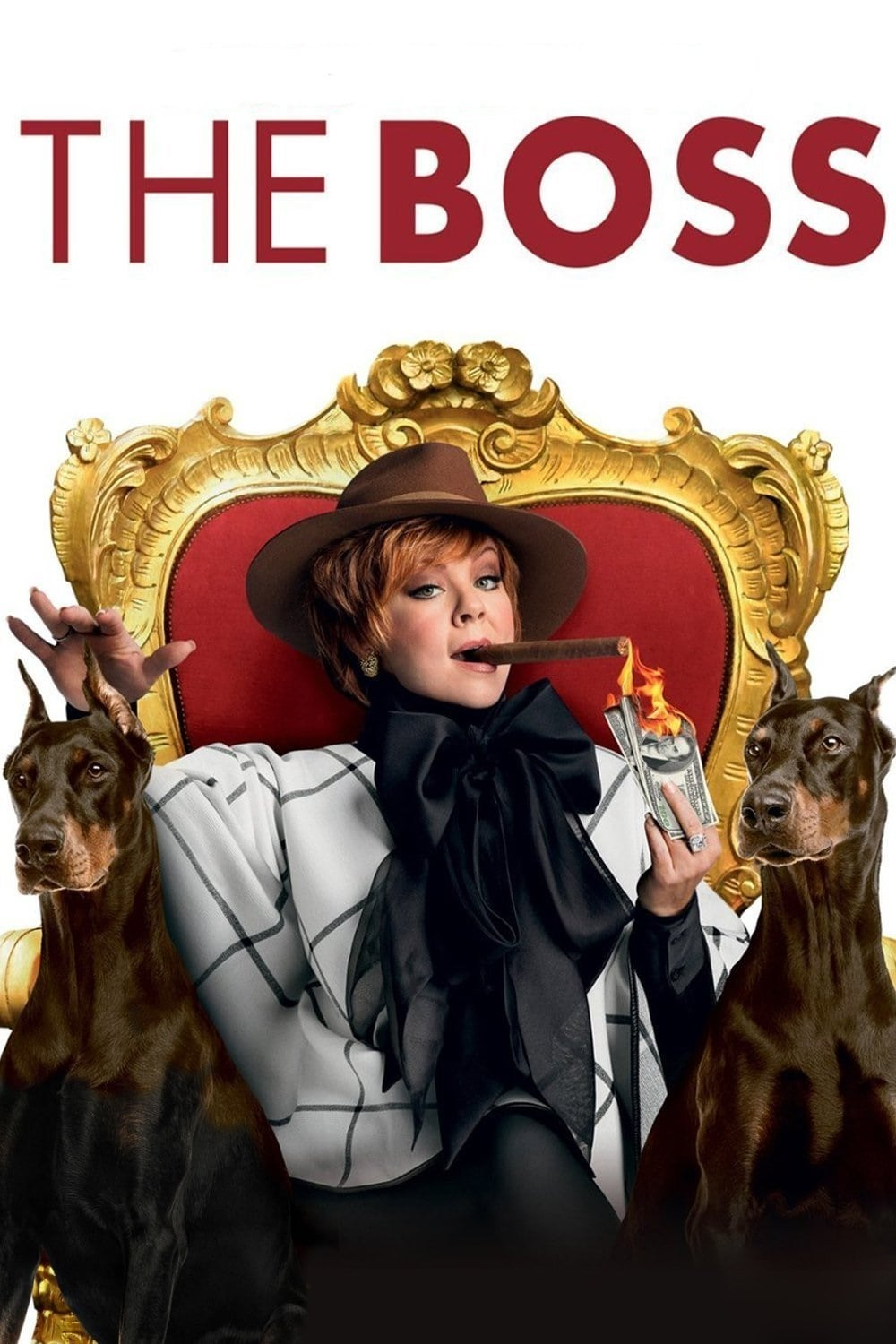 "Plakat von ""The Boss"""