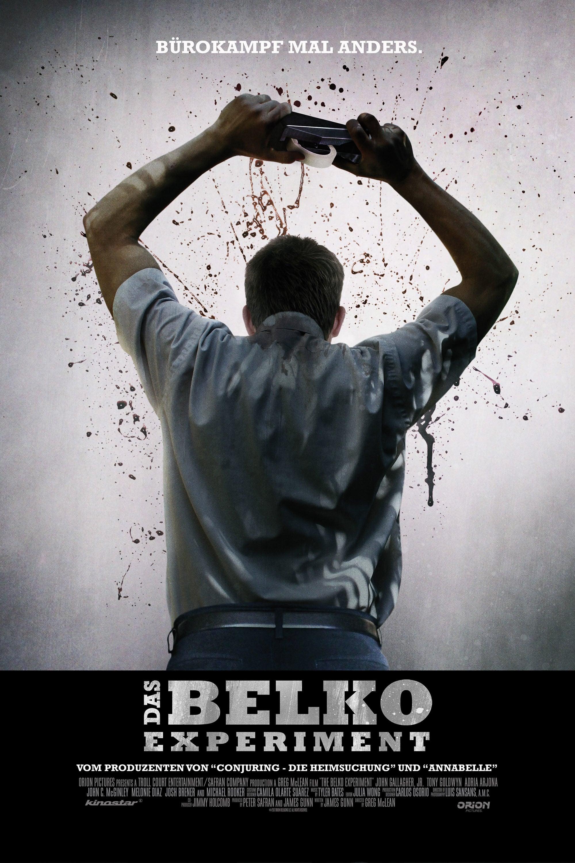 """Plakat von """"Das Belko Experiment"""""""