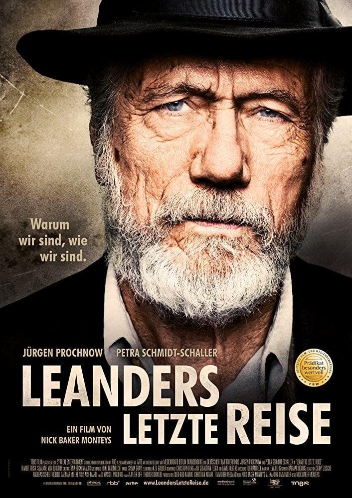 """Plakat von """"Leanders letzte Reise"""""""