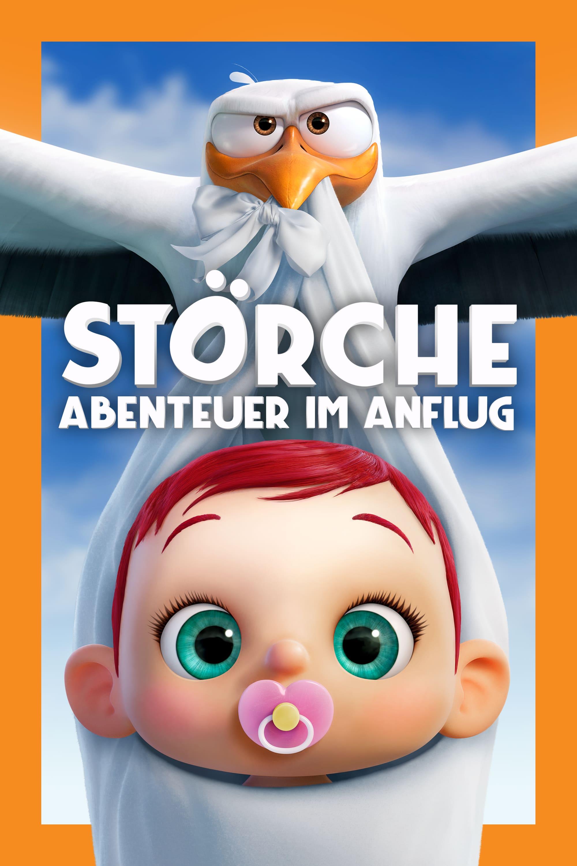 """Plakat von """"Störche - Abenteuer im Anflug"""""""