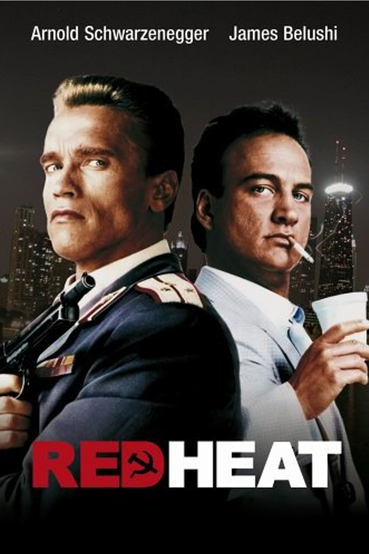 "Plakat von ""Red Heat"""