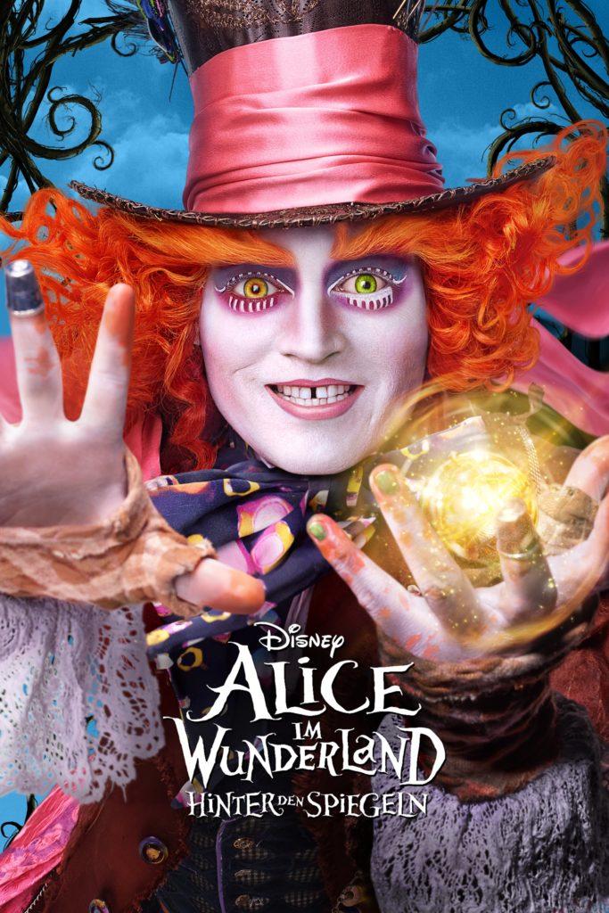 """Plakat von """"Alice im Wunderland: Hinter den Spiegeln"""""""