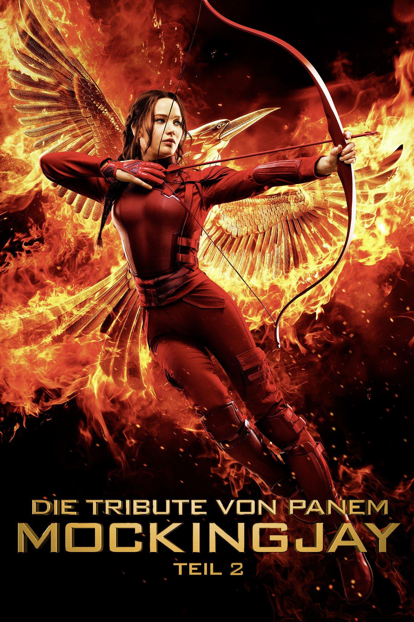 """Plakat von """"Die Tribute von Panem - Mockingjay Teil 2"""""""