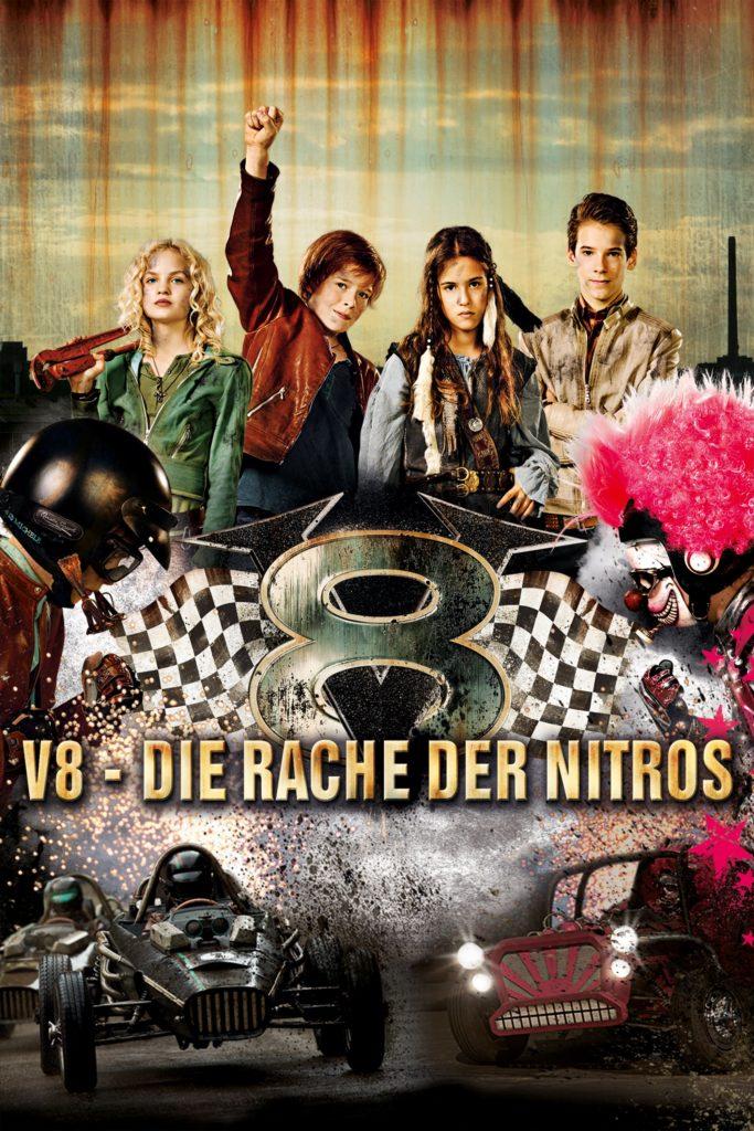 """Plakat von """"V8 - Die Rache der Nitros"""""""
