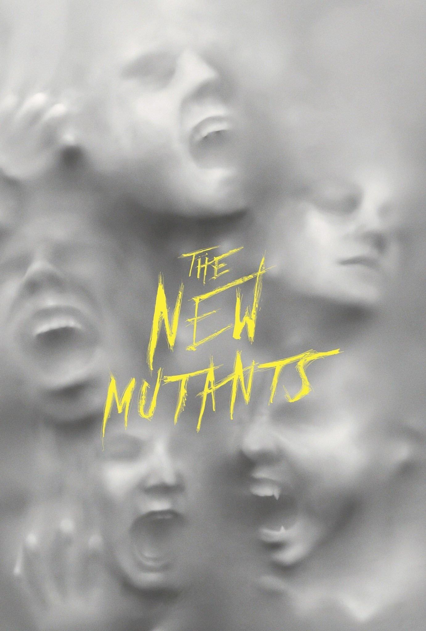 """Plakat von """"New Mutants"""""""