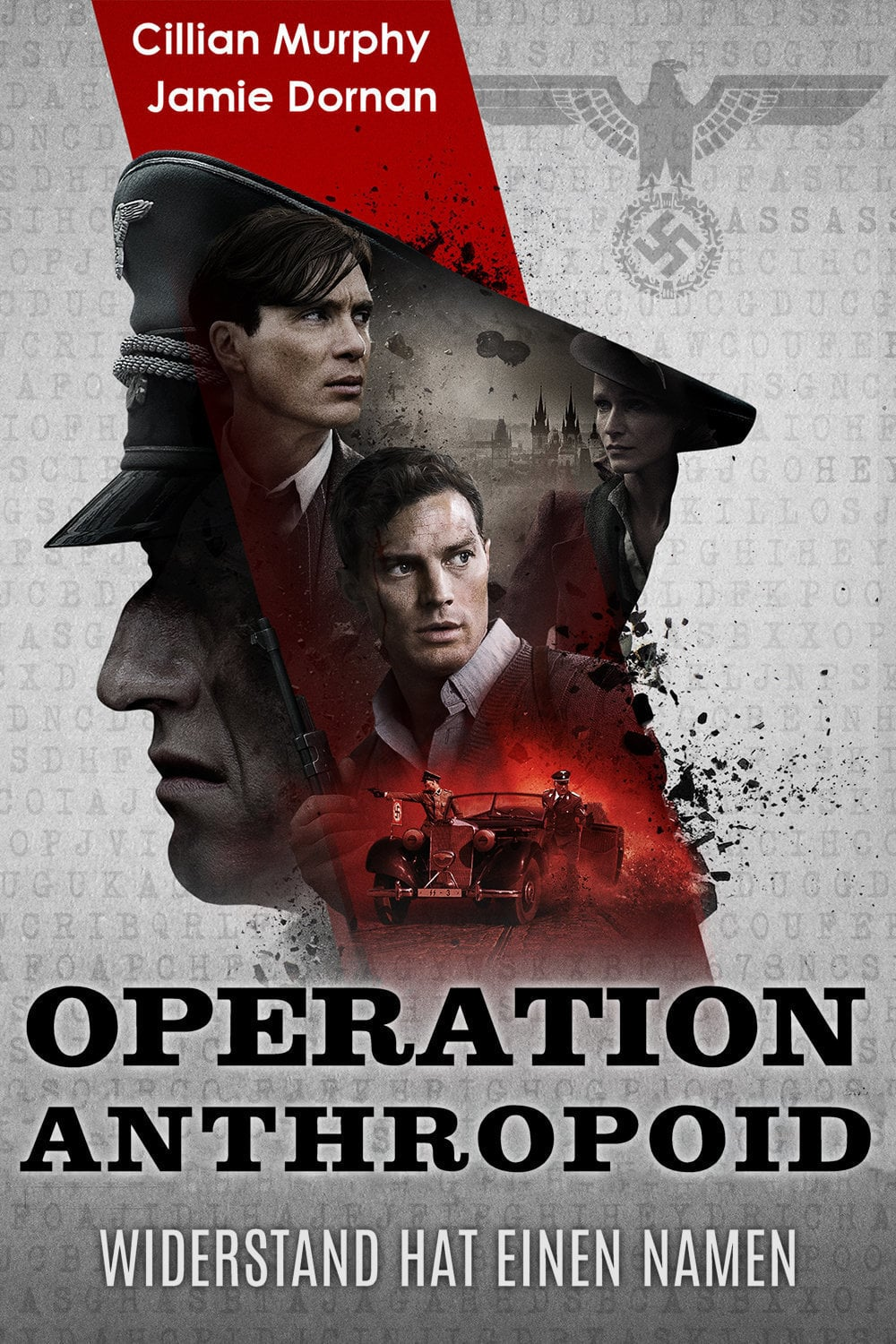 "Plakat von ""Operation Anthropoid"""