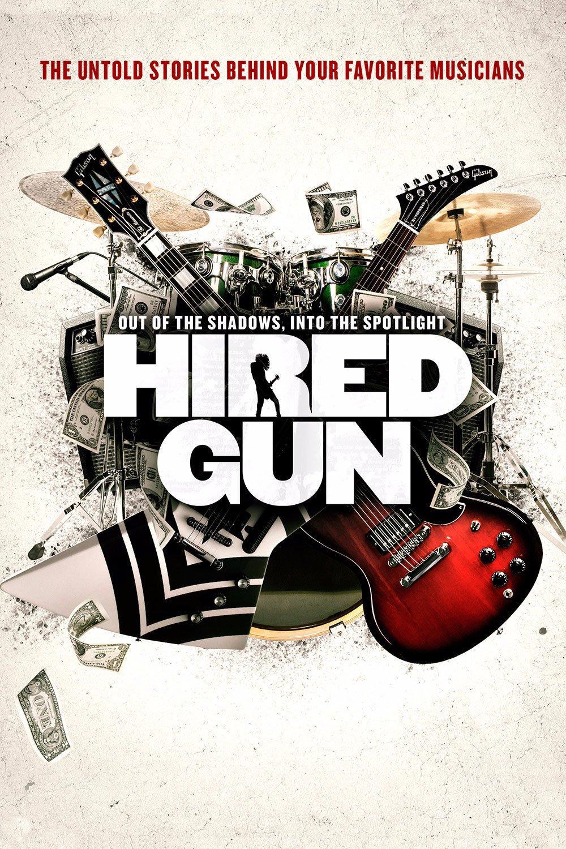 """Plakat von """"Hired Gun"""""""