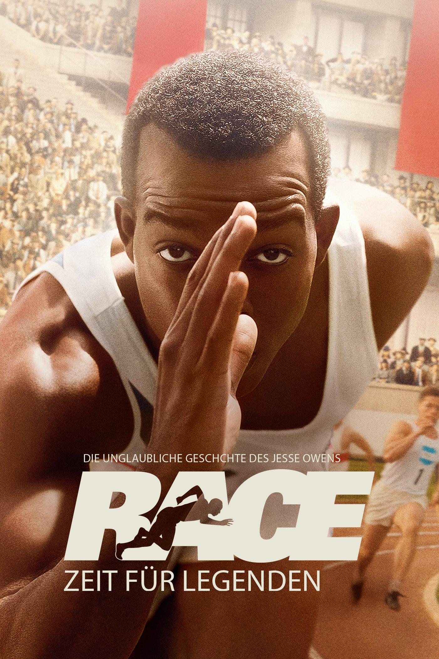 """Plakat von """"Race - Zeit für Legenden"""""""