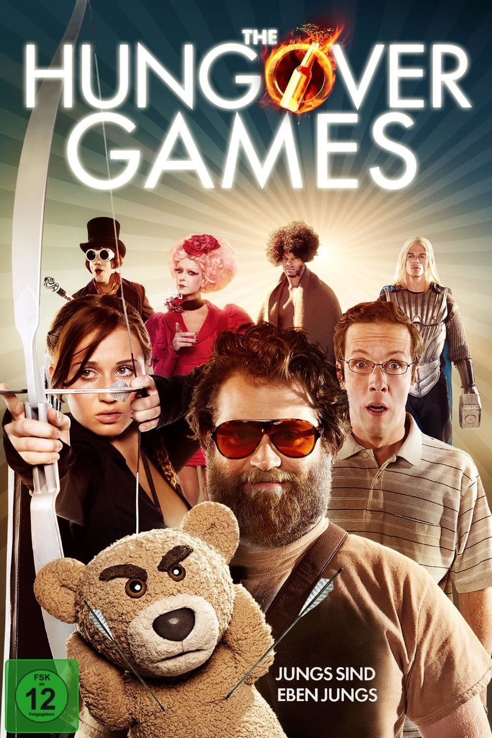 """Plakat von """"The Hungover Games"""""""