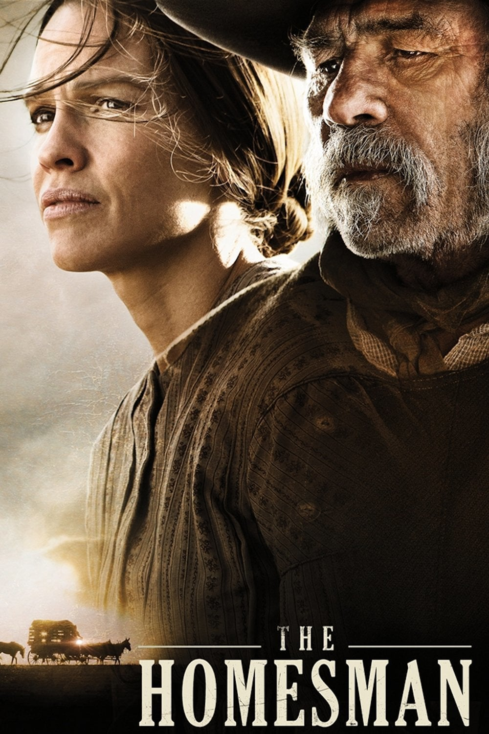 "Plakat von ""The Homesman"""