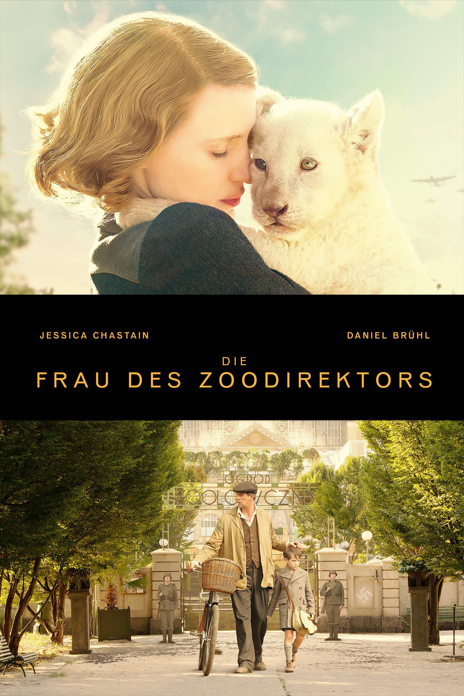 """Plakat von """"Die Frau des Zoodirektors"""""""