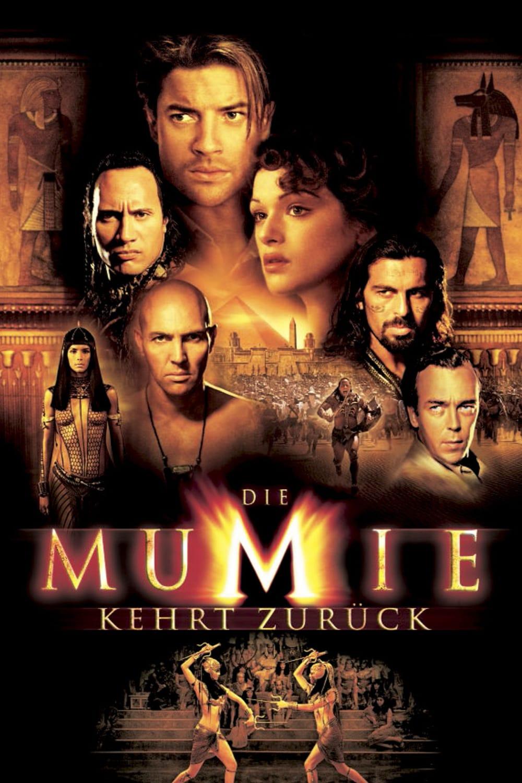 """Plakat von """"Die Mumie kehrt zurück"""""""