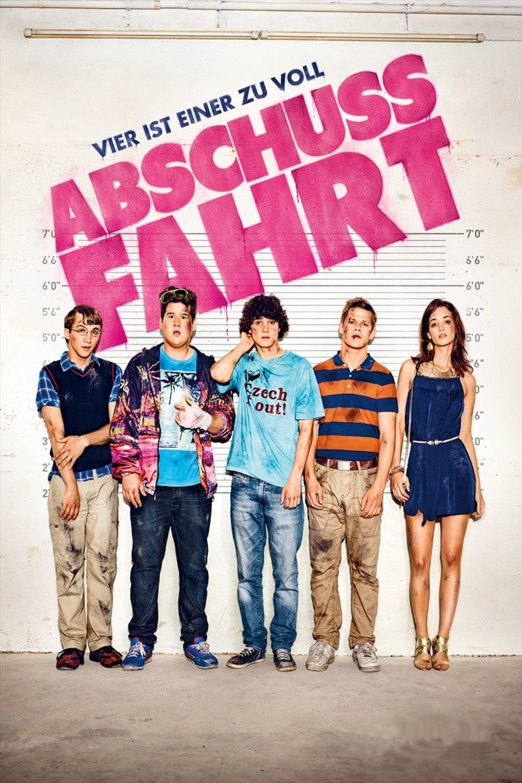 """Plakat von """"Abschussfahrt"""""""