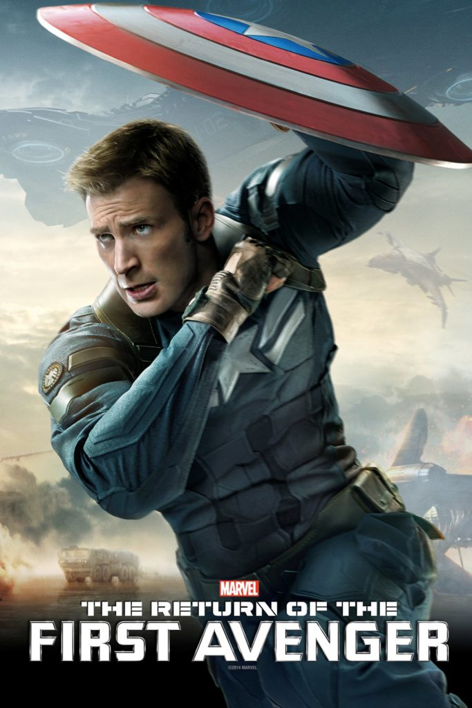 "Plakat von ""The Return of the First Avenger"""