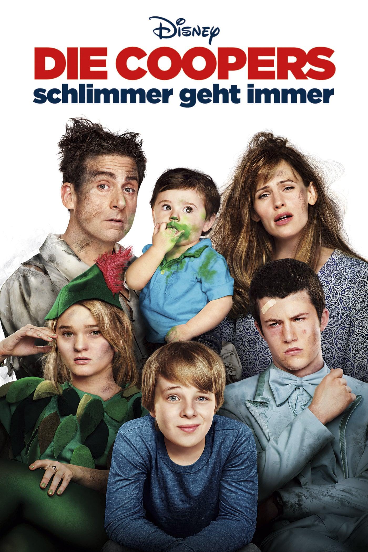 """Plakat von """"Die Coopers - Schlimmer geht immer"""""""