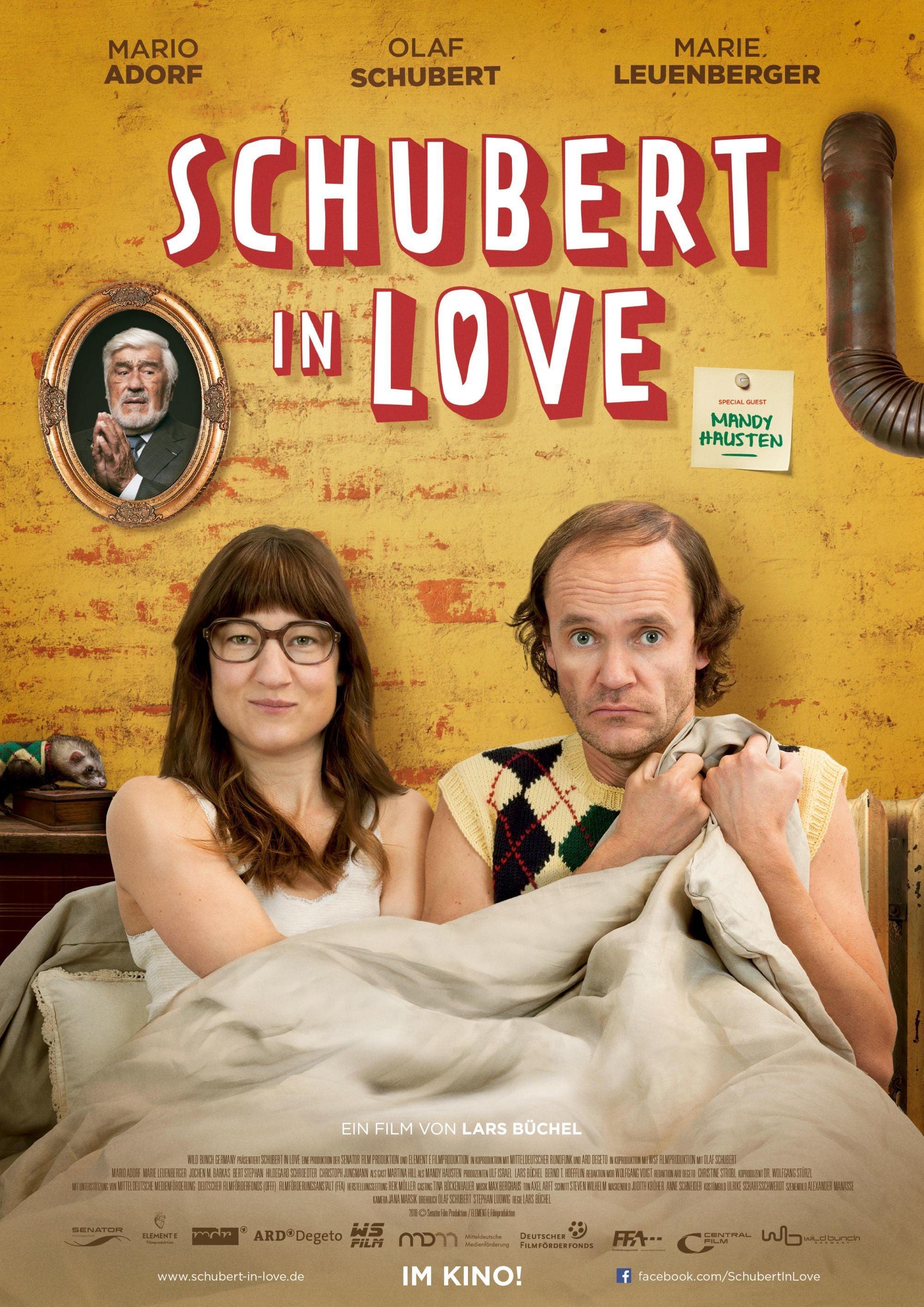 """Plakat von """"Schubert in Love"""""""