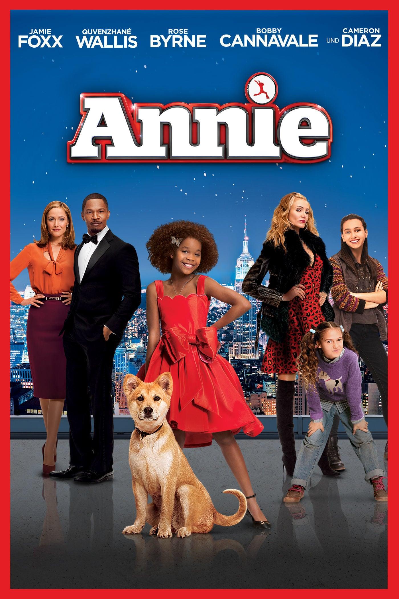 """Plakat von """"Annie"""""""