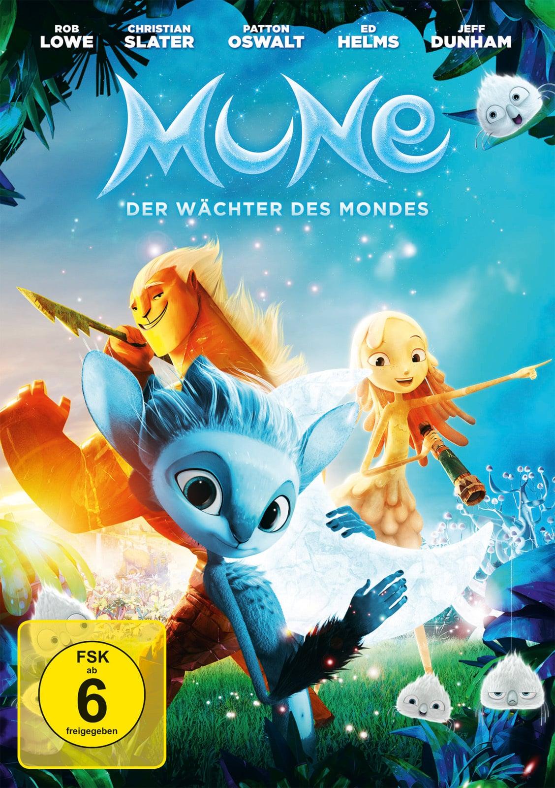 """Plakat von """"Mune, der Wächter des Mondes"""""""