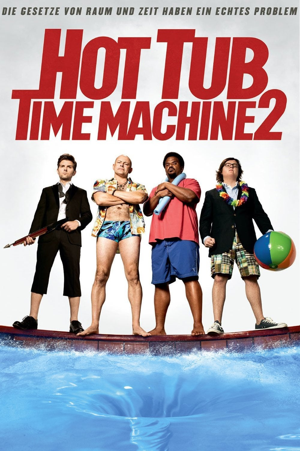 "Plakat von ""Hot Tub Time Machine 2"""