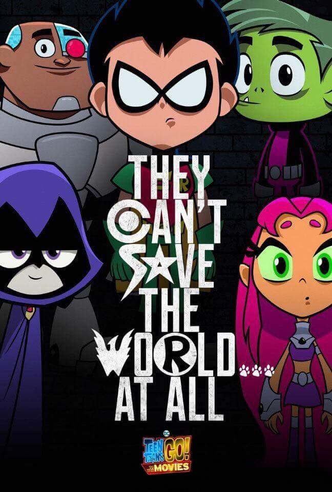 "Plakat von ""Teen Titans Go! To the Movies"""